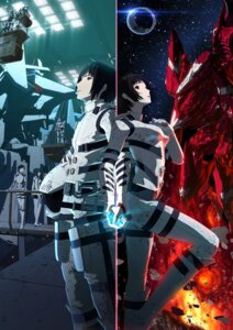 Rating: Safe Score: 39 Tags: bodysuit en_honoka gun hoshijiro_shizuka izana_shinatose knights_of_sidonia mecha monster monster_girl norio_kunato tanikaze_nagate weapon yuhata_midorikawa User: Ryksoft