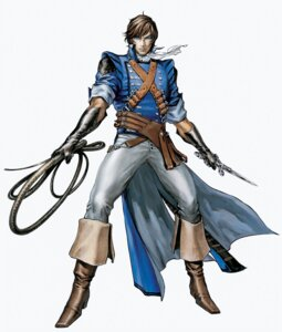 Rating: Safe Score: 3 Tags: castlevania castlevania:_the_dracula_x_chronicles kojima_ayami konami male richter_belmont sword weapon User: Radioactive