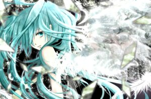 Rating: Safe Score: 29 Tags: aonoe hatsune_miku vocaloid wings User: charunetra