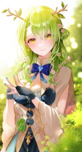 Rating: Questionable Score: 11 Tags: ceres_fauna cleavage hololive hololive_english horns langmal User: Dreista