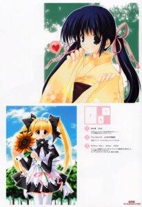 Rating: Safe Score: 7 Tags: akane_makes_revolution ikegami_akane kimono lolita_fashion maid thighhighs User: MirrorMagpie