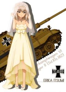 Rating: Safe Score: 16 Tags: dress girls_und_panzer heels itsumi_erika see_through tagme wedding_dress User: drop