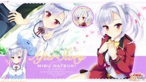 Rating: Safe Score: 30 Tags: chibi ensemble_(company) hizuki_yayoi mibu_natsuki_(ojou-sama_wa_sunao_ni_narenai) ojou-sama_wa_sunao_ni_narenai ojou-sama_wa_sunao_ni_narenai_~daisuki_wo_kimi_dake_ni~ seifuku wallpaper yashima_takahiro User: moonian