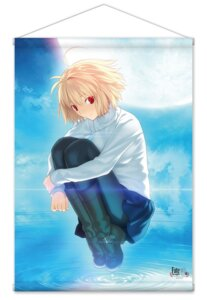 Rating: Questionable Score: 7 Tags: arcueid_brunestud heels pantyhose skirt_lift sweater takeuchi_takashi tsukihime type-moon User: edogawaconan