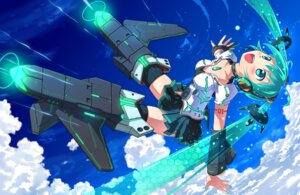 Rating: Safe Score: 47 Tags: akisorapx cleavage hatsune_miku mecha_musume parody strike_witches thighhighs vocaloid User: ddns001