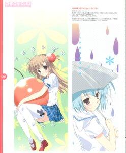Rating: Safe Score: 7 Tags: mikeou pantsu seifuku thighhighs umbrella User: Radioactive