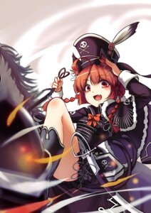 Rating: Safe Score: 23 Tags: animal_ears kaenbyou_rin koissa pirate sword tail touhou User: Mr_GT