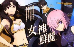 Rating: Safe Score: 22 Tags: aqua_inc. bikini_armor cleavage fate/grand_order fujimaru_ritsuka ishtar_(fate/grand_order) mash_kyrielight User: drop