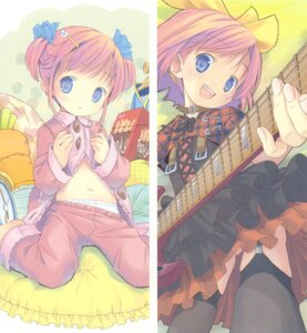 Rating: Questionable Score: 32 Tags: guitar loli pajama pantsu pop stockings thighhighs User: petopeto