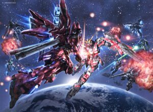 Rating: Safe Score: 20 Tags: gundam gundam_unicorn mecha morishita_naochika msz-006a1_zeta_plus sinanju unicorn_gundam User: DDD