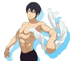 Rating: Safe Score: 4 Tags: free! male nanase_haruka swimsuits topless User: kunkakun
