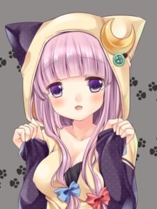 Rating: Safe Score: 58 Tags: animal_ears irori_kyouka_gekkan nekomimi patchouli_knowledge touhou User: Nekotsúh