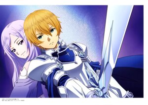 Rating: Questionable Score: 3 Tags: eugeo possible_duplicate quinella sword_art_online User: drop
