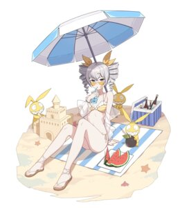 Rating: Questionable Score: 38 Tags: benghuai_xueyuan bikini bronya_zaychik cleavage honkai_impact megane open_shirt see_through swimsuits youx User: Dreista