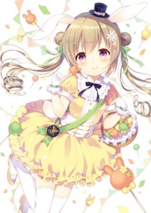 Rating: Safe Score: 52 Tags: thighhighs wasabi_(artist) User: Doremi.