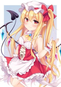 Rating: Safe Score: 26 Tags: dress flandre_scarlet miy@ pointy_ears tail touhou wings User: Mr_GT