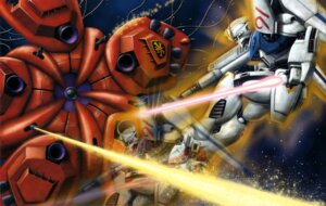 Rating: Safe Score: 5 Tags: gun gundam gundam_f91 gundam_f91_(mecha) sword weapon User: drop