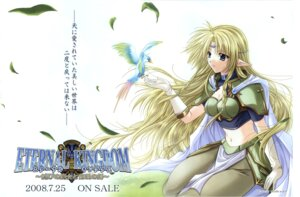 Rating: Safe Score: 10 Tags: armor cleavage elf eternal_kingdom pantyhose philia_(eternal_kingdom) pointy_ears studio_e.go! yamamoto_kazue User: sayako
