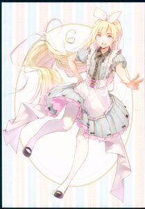 Rating: Safe Score: 44 Tags: alice alice_in_wonderland dress dsmile pantyhose tsundere_is_love User: NotRadioactiveHonest