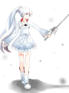 Rating: Safe Score: 41 Tags: dress rwby ryo_neko sword weiss_schnee User: zero|fade