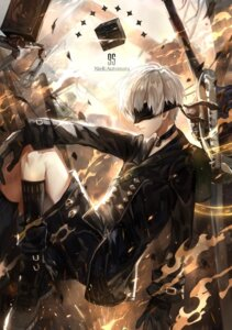 Rating: Safe Score: 15 Tags: male nier_automata sword tsugutoku yorha_no._9_type_s User: mash