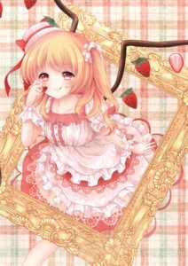 Rating: Safe Score: 34 Tags: dress flandre_scarlet mumu-crown touhou wings User: Mr_GT