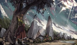 Rating: Safe Score: 20 Tags: hieda_no_akyuu landscape shimadoriru touhou User: charunetra