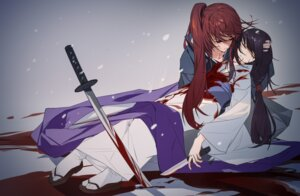 Rating: Safe Score: 10 Tags: blood grandialee japanese_clothes kimono rurouni_kenshin sword weapon User: Mr_GT