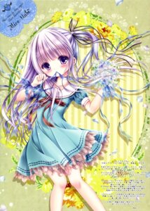 Rating: Safe Score: 53 Tags: color_issue dress goto_jun mubi_alice screening tenshi_no_three_piece! tinkerbell User: kaguya940385