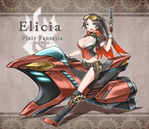 Rating: Safe Score: 11 Tags: cleavage gun pixiv_fantasia pixiv_fantasia_new_world zaxwu User: fairyren