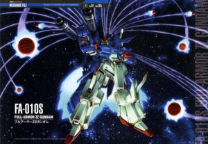 Rating: Safe Score: 16 Tags: armor gun gundam gundam_zz mecha nagata_masami weapon zeta_gundam User: drop