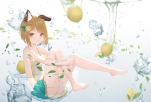 Rating: Questionable Score: 31 Tags: animal_ears cg_(2686805355) granblue_fantasy loli no_bra nopan see_through skirt_lift vajra_(granblue_fantasy) wet wet_clothes User: BattlequeenYume