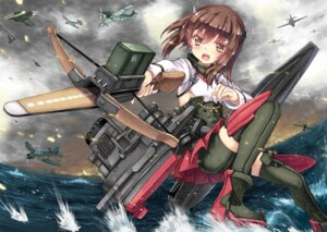 Rating: Safe Score: 31 Tags: abyss_of_parliament kantai_collection taihou_(kancolle) thighhighs User: fairyren