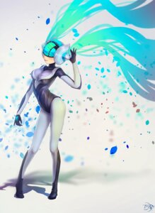 Rating: Safe Score: 32 Tags: autographed bodysuit jay_xu league_of_legends sona_buvelle User: charunetra