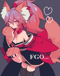 Rating: Safe Score: 24 Tags: animal_ears cleavage fate/grand_order japanese_clothes mochizuki_kei tail tamamo_cat thighhighs User: nphuongsun93