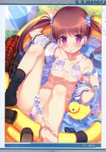 Rating: Questionable Score: 67 Tags: bikini loli meito open_shirt seifuku swimsuits undressing User: admin2