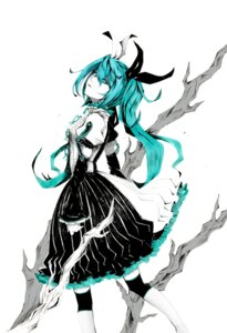 Rating: Safe Score: 20 Tags: dress hatsune_miku kaname meltdown_(vocaloid) vocaloid User: charunetra