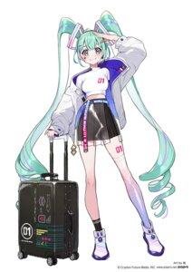 Rating: Safe Score: 9 Tags: hatsune_miku see_through tattoo thighhighs vocaloid youcapriccio User: Dreista