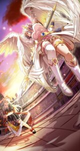 Rating: Safe Score: 15 Tags: 627247421 garter thighhighs weapon wings User: z627247421