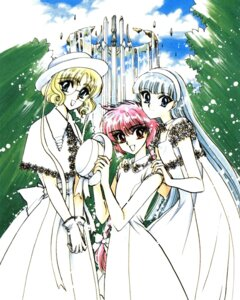 Rating: Safe Score: 7 Tags: clamp hououji_fuu magic_knight_rayearth ryuuzaki_umi shidou_hikaru User: WhiteExecutor