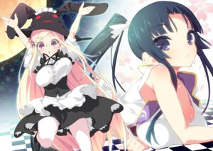 Rating: Safe Score: 42 Tags: jpeg_artifacts kibitsu_momoko lolita_fashion majolica_le_fay megane ookami-san pantyhose show_(rinne) User: fairyren