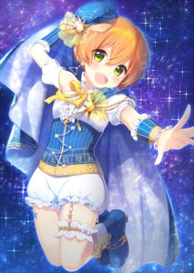 Rating: Safe Score: 19 Tags: garter heels hoshizora_rin love_live! pochiko_xxx User: Mr_GT