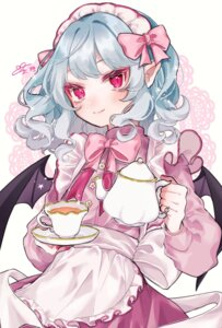 Rating: Safe Score: 12 Tags: maid pointy_ears remilia_scarlet touhou wings youtan User: Dreista