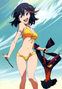 Rating: Questionable Score: 101 Tags: amemiya_akira bikini cleavage kill_la_kill matoi_ryuuko swimsuits User: drop