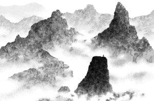 Rating: Safe Score: 9 Tags: inoue_takehiko landscape monochrome vagabond User: Umbigo