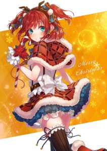 Rating: Safe Score: 34 Tags: christmas horns kurosawa_ruby love_live!_sunshine!! sudach_koppe thighhighs User: Mr_GT