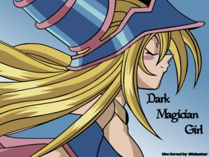 Rating: Safe Score: 13 Tags: cleavage dark_magician_girl signed vector_trace wallpaper yugioh User: charunetra