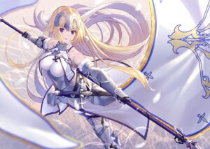 Rating: Safe Score: 35 Tags: armor fate/grand_order heels jeanne_d'arc jeanne_d'arc_(fate) sword takubon_(xewh4773) thighhighs User: Mr_GT