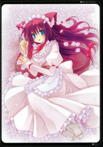 Rating: Safe Score: 21 Tags: animal_ears dress kannon_ouji nekomimi neuromancer. tail User: fireattack
