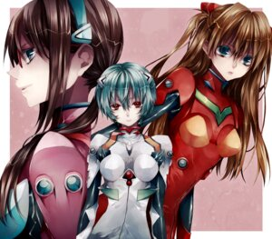 Rating: Safe Score: 29 Tags: ayanami_rei bodysuit makinami_mari_illustrious neon_genesis_evangelion souryuu_asuka_langley tsukioka_tsukiho User: MK-Scorpion